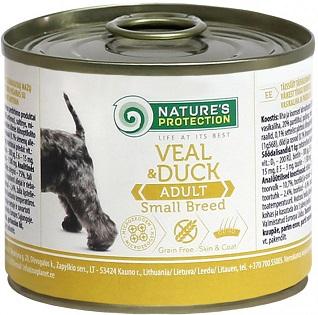 Nature s Protection влажный корм для мелких пород собак купить