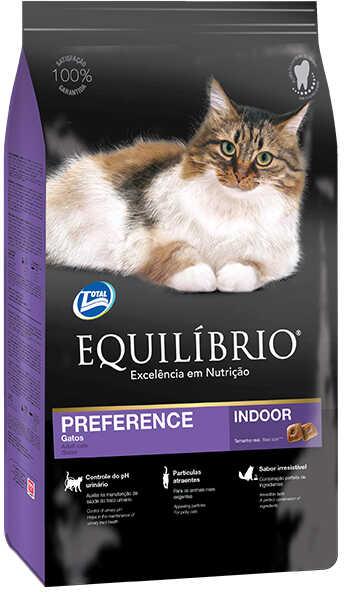 Сухой корм Equilibrio Cat Adult Preference Indoor