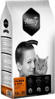 Сухой корм Amity Cat Salmon & RiceSalmon & Rice