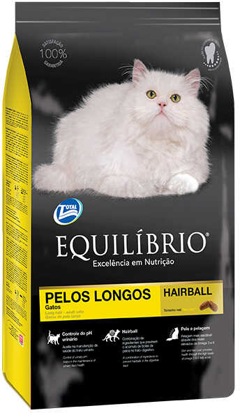 Сухой корм Equilibrio Cat Adult Long Hair