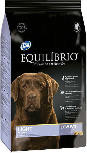 Сухой корм Equilibrio Dog Adult Light All Breeds Low Fat