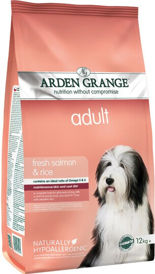 Сухой корм Arden Grange (Арден Гранж) Adult Salmon & Rice