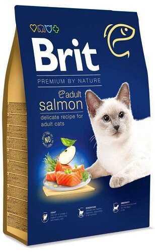 Сухой корм Brit Premium (Брит Премиум) Cat Adult Salmon