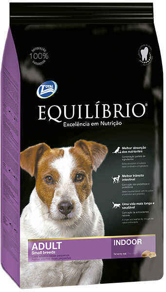 Сухой корм Equilibrio Dog Adult Small Breeds Indoor