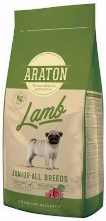 Сухой корм Araton (Аратон) Lamb Junior All Breeds