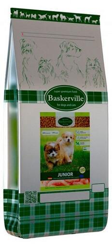 Сухой корм Baskerville (Баскервиль) Junior
