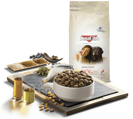 Сухой корм BonaCibo Adult Dog High Energy Chicken & Rice with Anchovy