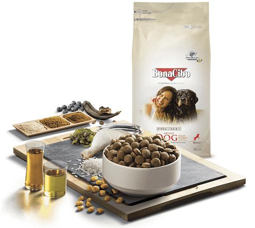 Сухой корм для собак BonaCibo Adult Dog High Energy Chicken & Rice with Anchovy купить