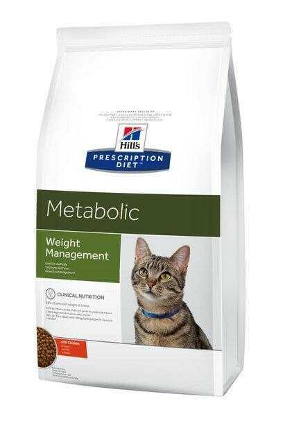 Корм Хиллс Метаболик для кошек при избыточном весе