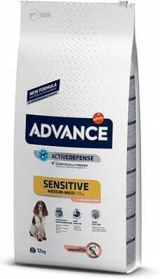 Сухой корм Advance (Адванс) Medium-Maxi Sensitive Salmon & Rice
