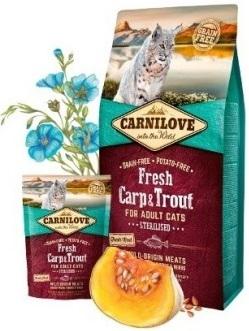 Корм сухой Carnilove для кошек и котов