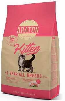 Сухой корм Araton (Аратон) Kitten