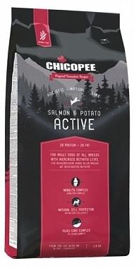 Сухой корм Chicopee Holistic Active Salmon & Potato