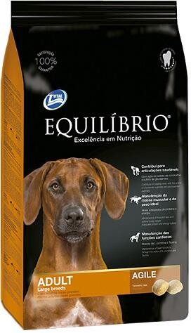 Сухой корм Equilibrio Dog Adult Large Breeds Agile