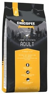 Сухой корм Chicopee Holistic Adult Lamb & Potato