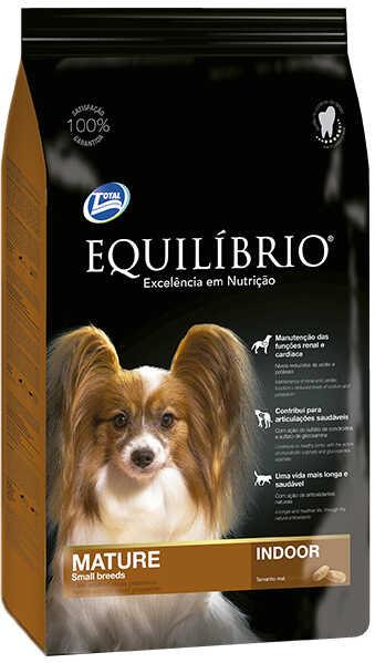 Сухой корм Equilibrio Dog Mature Small Breeds Indoor