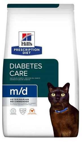 Лечебный сухой корм Hill's Prescription Diet m/d Diabetes/Weight Management