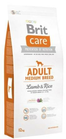 Сухой корм Brit Care (Брит Кеа) Adult Medium Breed Lamb & Rice