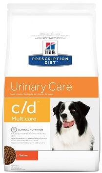 Hills (Хилс) C/D Urinary корм для собак при мочекаменной болезни купить