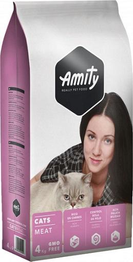 Сухой корм Amity Cat Eco Meat