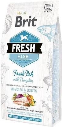 Сухой корм Brit Fresh (Брит Фреш) Adult Large Breed Fish & Pumpkin