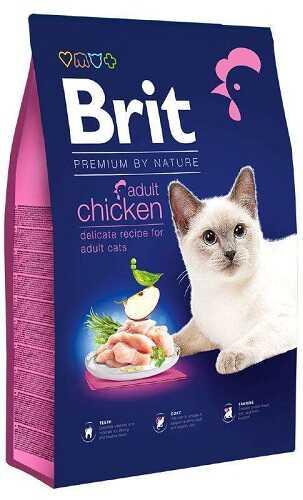 Сухой корм Brit Premium (Брит Премиум) Cat Adult Chicken