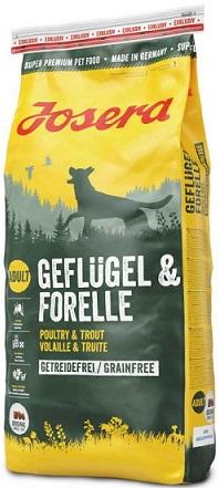 Cухой корм Josera Geflügel & Forelle