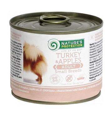 Nature s Protection консервы для мелких пород собак купить