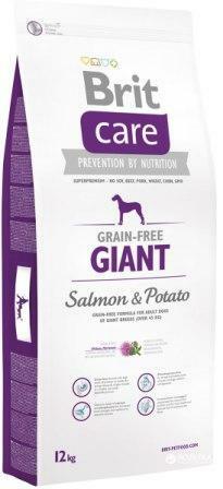 Сухой корм Brit Care (Брит Кеа) Adult Giant Salmon & Potato