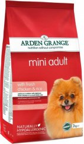 Сухой корм Arden Grange (Арден Гранж) Mini Adult Chicken & Rice