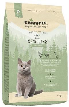 Сухой корм Chicopee CNL Junior New Life Chicken