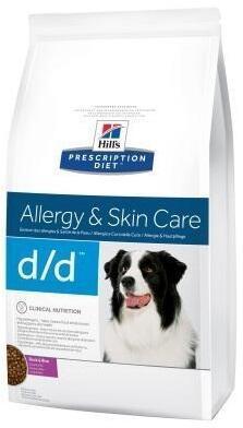 Лечебный корм при аллергии у собак Hills (Хиллс) D/D