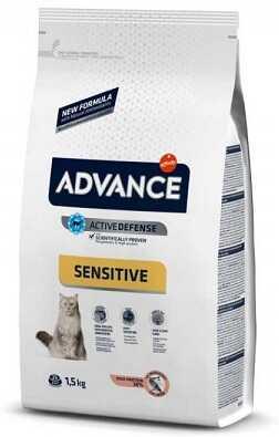 Сухой корм Advance Cat Salmon Sensitive