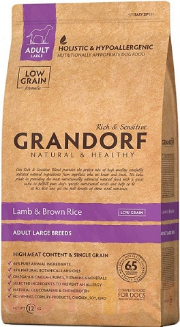 Сухой корм Grandorf Lamb & Rice Adult Maxi