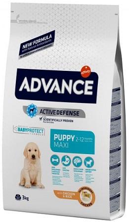 Корм Advance (Эдванс) Dog Maxi Puppy для щенков крупных пород